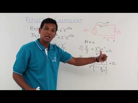 Electro Magnetics Theory - Reflection Coefficient