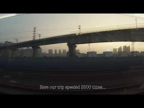 Bullet Train Kunshan-Shanghai-Beijing. Latinos in China