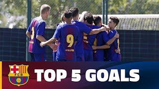 FCB Masia Academy  Top goals 16 17 September