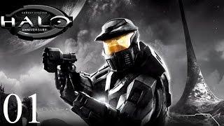 Прохождение Halo: CE Anniversary (Halo 1) на русском #01