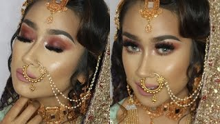 Asian Bridal Makeup - BOLD EYES - Bangladeshi/indian/pakistani - Start to finish