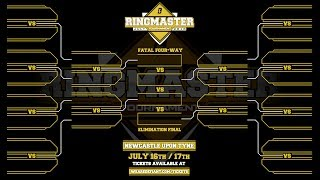 Ringmaster Tournament Bracket - All First Round Matches Revealed