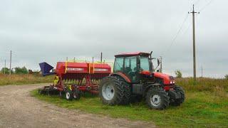 161-Д. Трохи про тракторі МТЗ-1523.Пробуємо молотити, але на жаль...