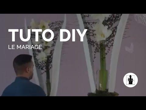 TUTO - Composition de mariage - Max le fleuriste