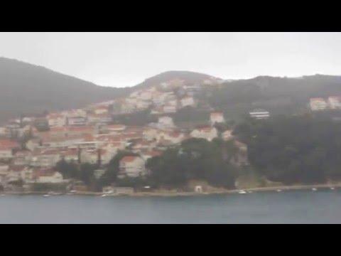 83 Croatia Travel, Road to Dubrovnik from Split 2 크로아티아 스플리트에서 두보로브니크 가는 길 2