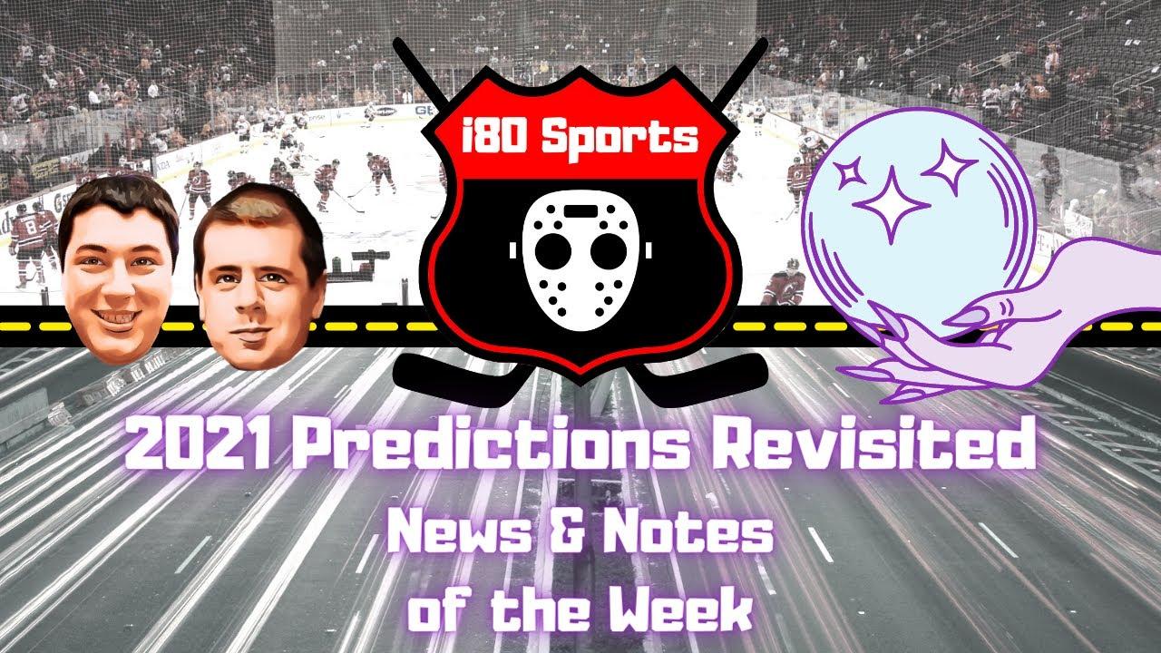 NHL- 2021 Preseason Predictions Revisited