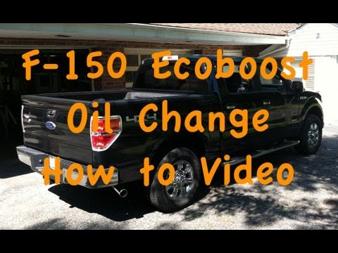 F-150 Ecoboost Oil Change How-to Video