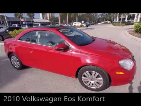 Used 2010 Volkswagen Eos Komfort Near Fort Myers and Sanibel