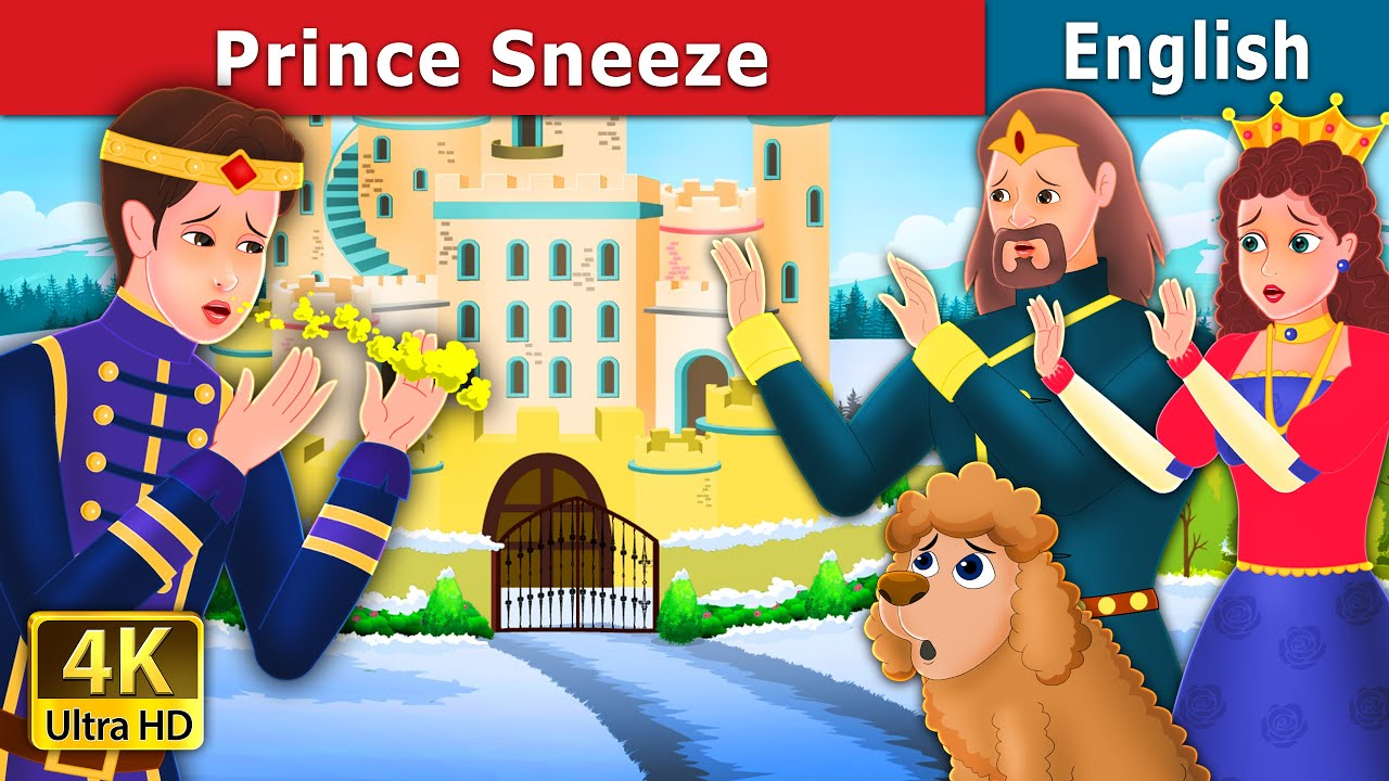 Prince Sneeze Story in English | Stories for Teenagers | English Fairy Tales