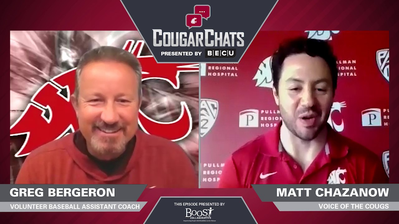 Image for WSU Athletics: Cougar Chats with Coach Greg Bergeron webinar