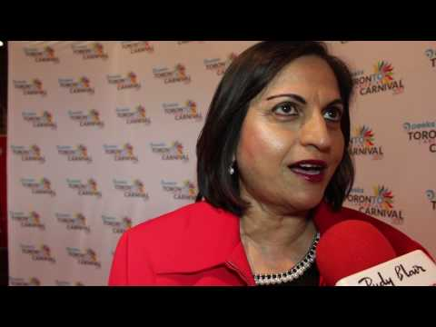 Chat with Nazreen Ali on Peeks Toronto Caribbean Carnival 2017