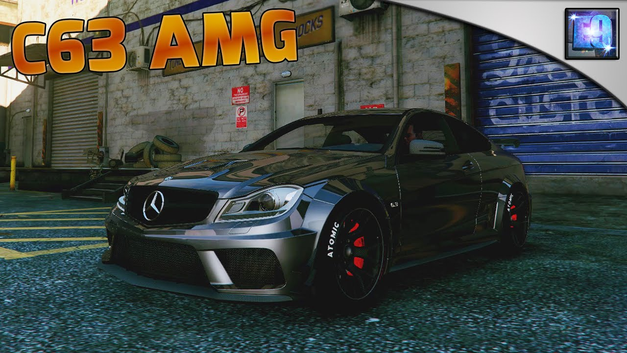GTA 5 PC | Mercedes-Benz C63 AMG Black Series Car mod ...