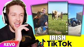 Reacting to Irish Tik Tok