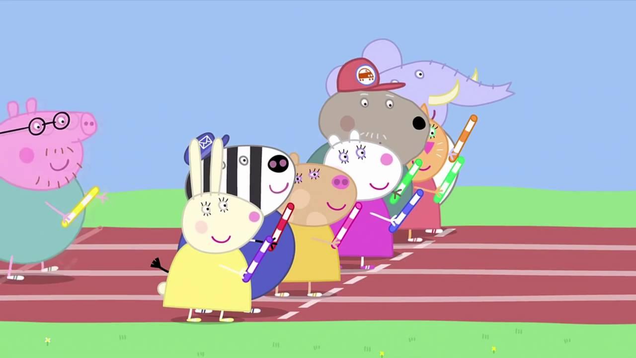 Peppa Pig - Sports Day (15 episode / 2 season) [HD]
