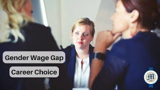 Gender wage gap and career choice | Catherine Marrs discusses LIVE on television