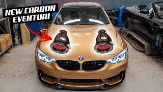 I REMOVED MY BMW M4 *ARMYTRIX* EXHAUST