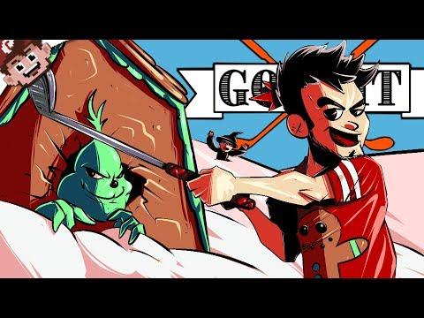 A Christmas Golf Murder Story! | Journey To Hogwarts! (GOLF IT w/ Friends)