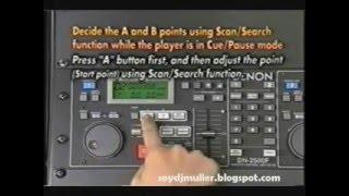 Denon DN-2500F Instruction Video (1996)