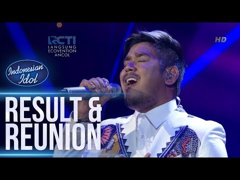ABDUL - WON'T GO HOME WITHOUT YOU (Maroon 5) - RESULT & REUNION- Indonesian Idol 2018