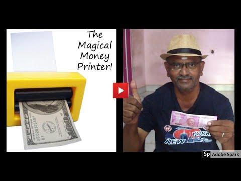 ONLINE TAMIL MAGIC I ONLINE MAGIC TRICKS TAMIL #651 I MAGIC MONEY MAKER I தமிழ் மேஜிக்
