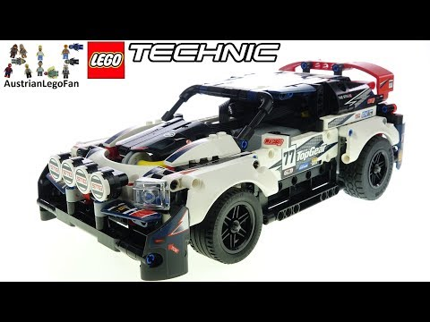 LEGO Technic 42109 App Controlled Top Gear Rally Car - Lego Speed Build Review