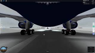 Landing an British Airways A350-900 XWB | ROBLOX