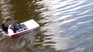 Brushless Gyro Stabilized Aqaucraft Mini Alligator Air Boat For Sale