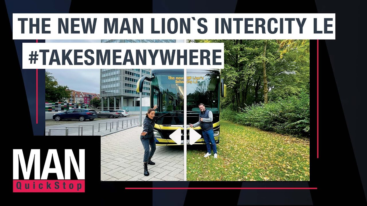 Introducing the brand new MAN Lion's Intercity LE | MAN QuickStop #9
