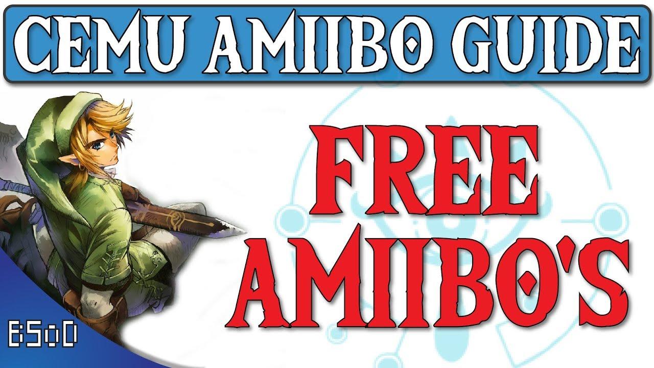 Cemu 1 11 5 | Free Amiibos for ALL | Zelda BOTW | |