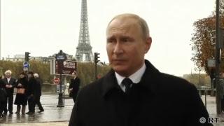 Эксклюзивное интервью Путина RT