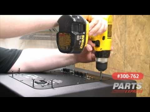 Dayton Audio Subwoofer Kit: Assembly