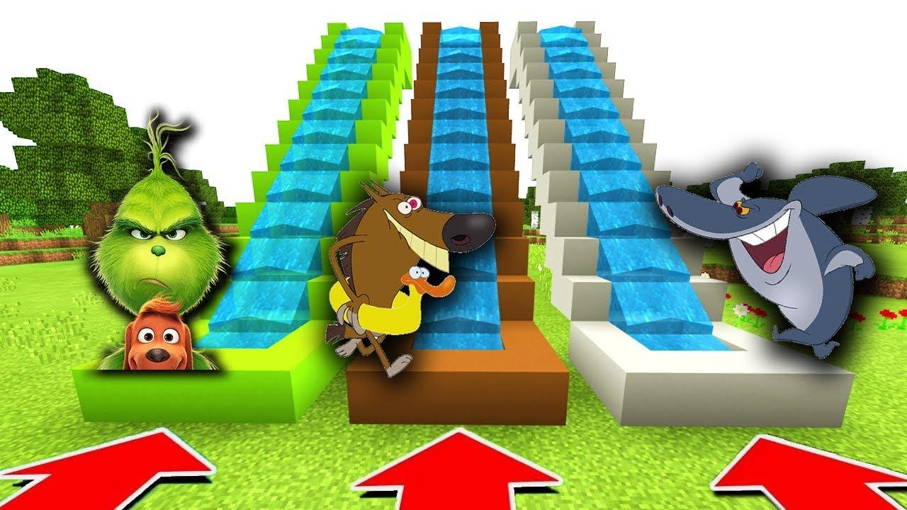 Ne Glisser Pas Dans Le Mauvais Toboggan Minecraft Zig Et