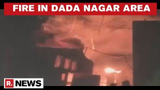 Kanpur: Fire Breaks Out At A Factory In Dada Nagar Area, 2 Dozen Fire Tenders Deployed