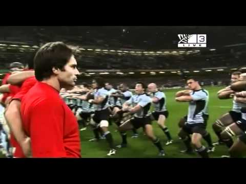 All Blacks vs France Haka 2007 - Up Close and Personal