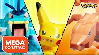Build Beyond™: Hungry for Battle | Pokémon | Mega Construx