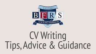 CV Writing Advice - How to Write A CV