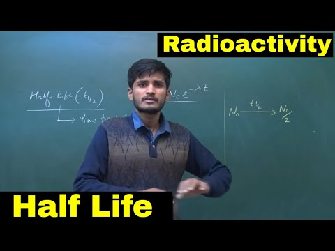 Half Life In Radioactivity || Lecture-4 || Modern Physics || For 12th/IIT JEE/NEET || By-KP Sir