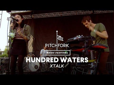 "Hundred Waters perform ""Xtalk"" - Pitchfork Music Festival 2014"