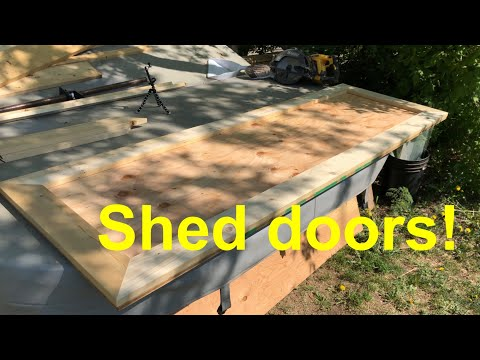 Building Some Shed Doors