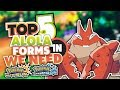 Top 5 New Alola Forms We Need For Pokemon Ultra Sun and Ultra Moon Part 3