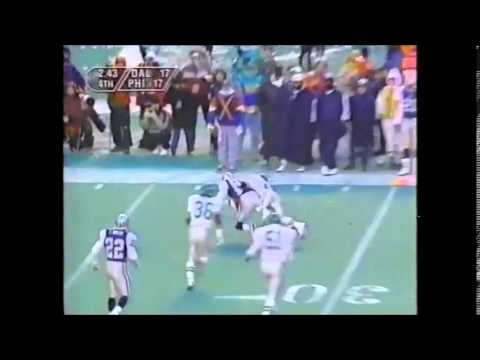Cowboys vs Eagles, Week 15, 1995