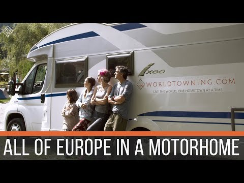 FULL TIME TRAVELING FAMILY  | RV EUROPE | 50 COUNTRIES IN TWO YEARS