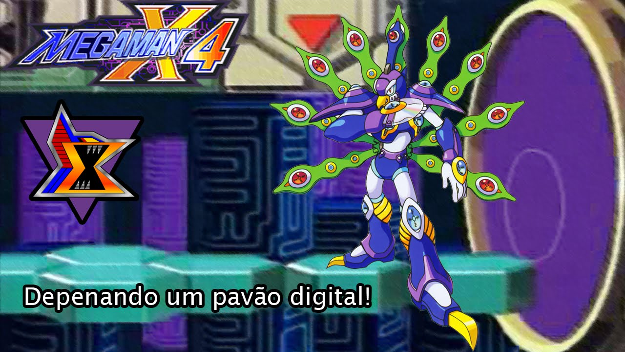 Megaman X4#7 - Pavão cibernético! (+ uma perfect run) - YouTube