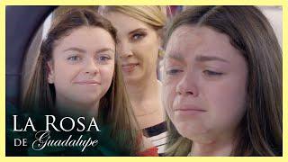La Rosa de Guadalupe: Andrómeda rocía ácido en el rostro de Alexa   Un beso de amor