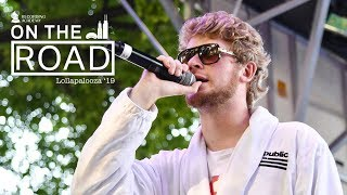 Yung Gravy On Debut Album 'Sensational,' Tour Stories & More | On The Road At Lollapalooza 2019