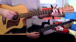 Dire Straits - Brothers in Arms - acoustic (and Parker Fly) guitar cover by onlyfavoritemusic