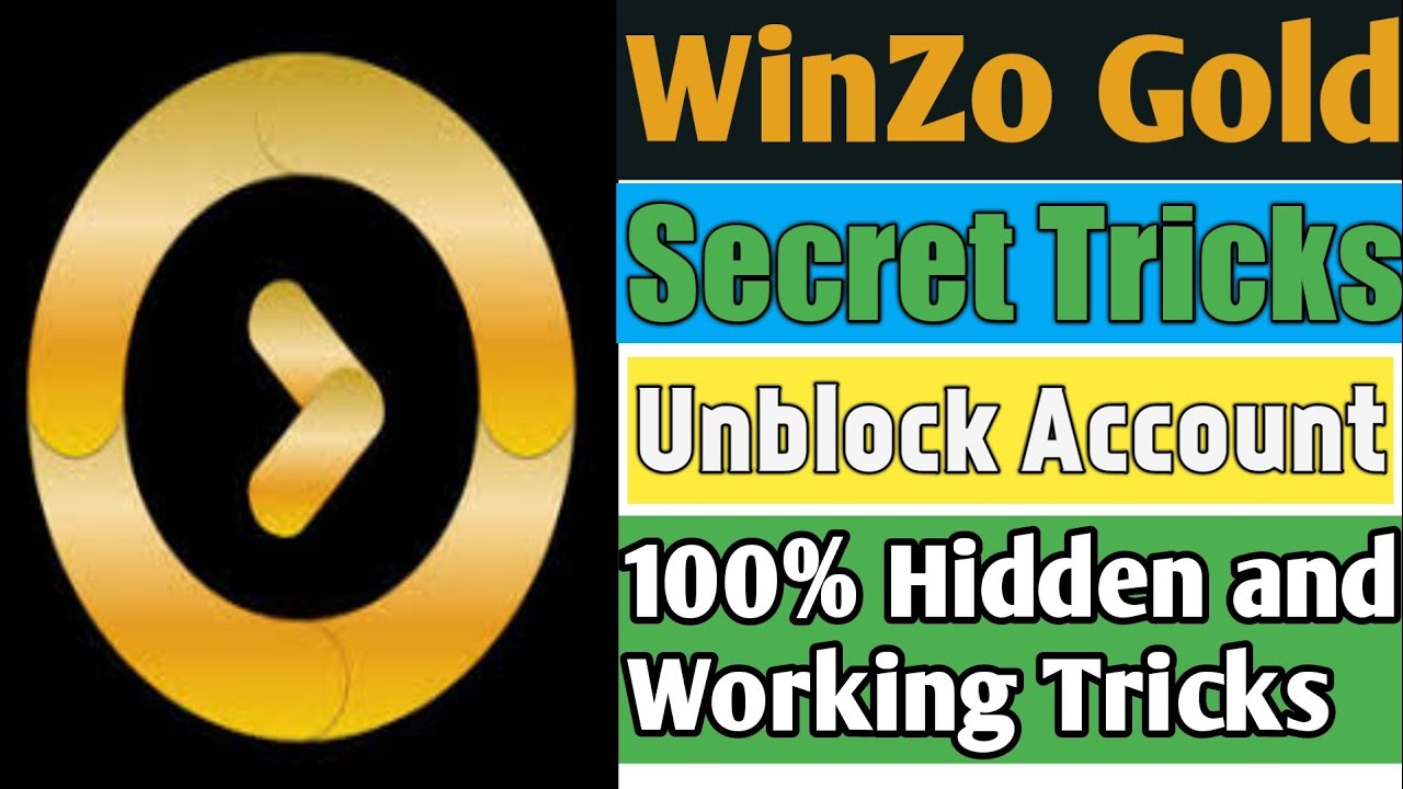 WinZo Gold Secret Tricks To Unblock Your Account | WinZo Gold Account Unblock Tricks | TrickySK