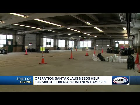 Gifts needed for hundreds of NH children