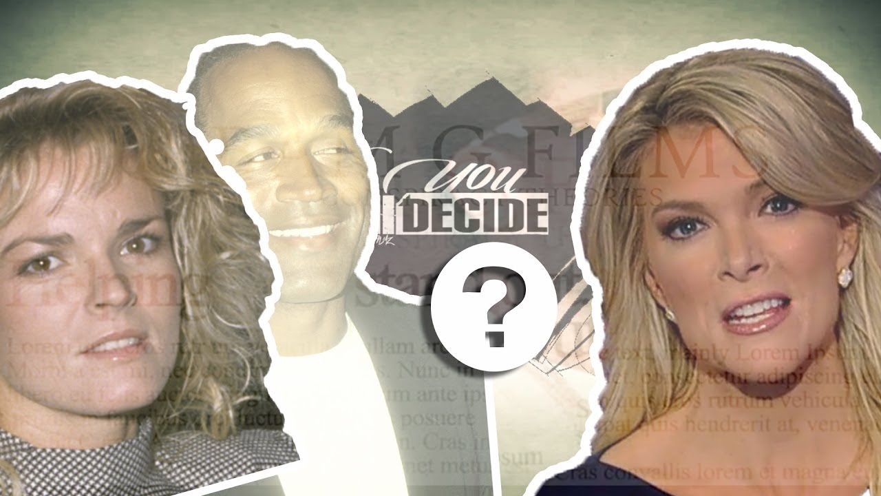 Is Megyn Kelly REALLY Nicole Brown Simpson ?(U-Decide)