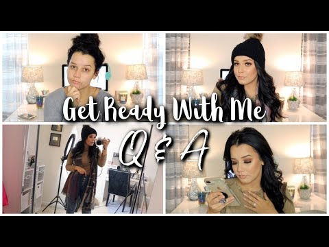 GRWM+ Q&A | Why do I want a baby? Being used by friends? Regrets in Life?